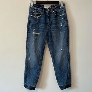 Garage Distressed 80's Mom Jeans